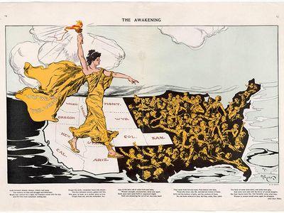 The Awakening, February 20, 1915 Chromolithograph