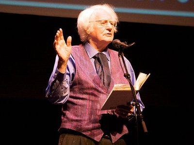 Robert Bly, one of the poets who scored in the top ten for dynamism.