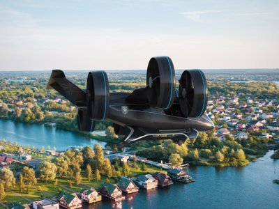 The Nexus Air Taxi could have Uber airborne within a decade.