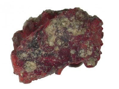 This sample of red trinitite contained the quasicrystal described in a new study.