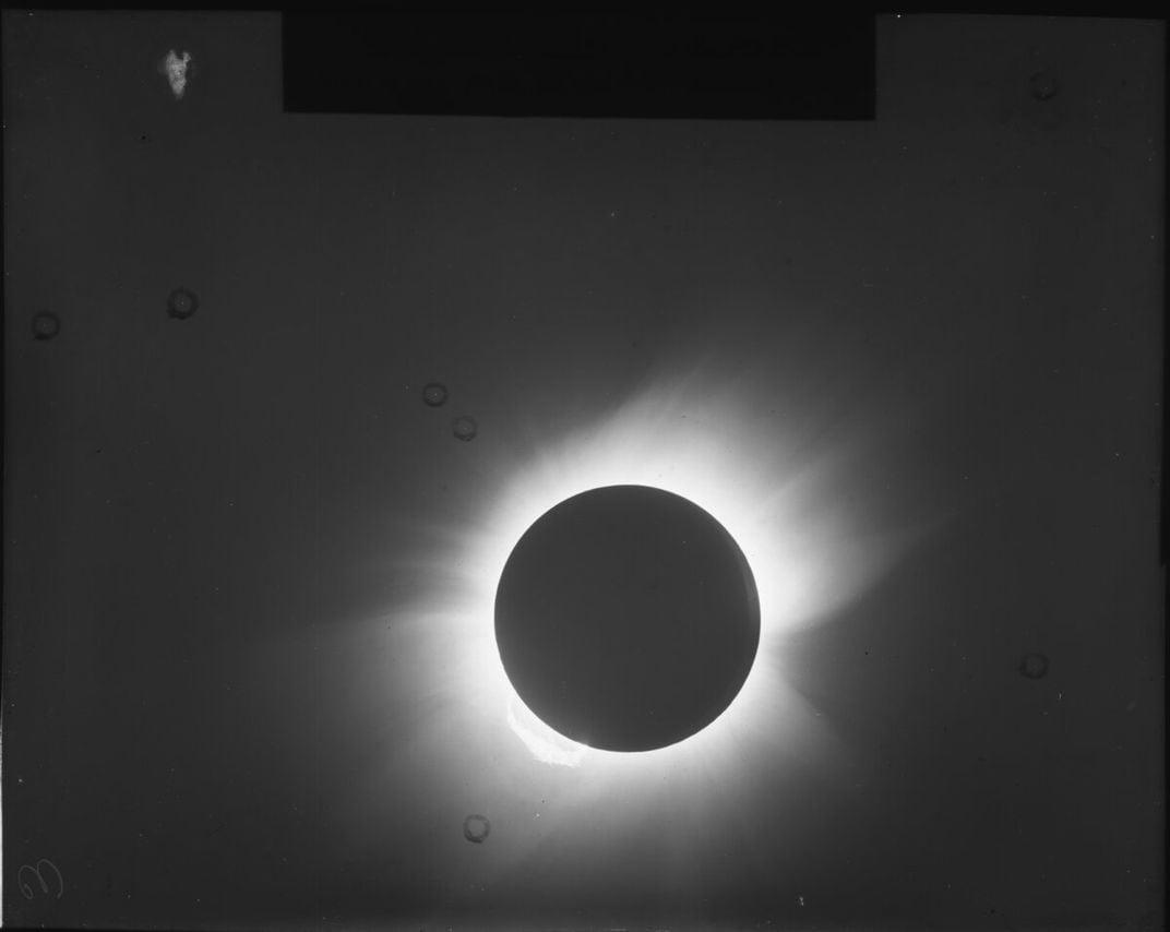 A Total Solar Eclipse 100 Years Ago Proved Einstein's General Relativity