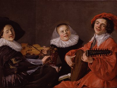 Judith Leyster, The Concert, c. 1633
