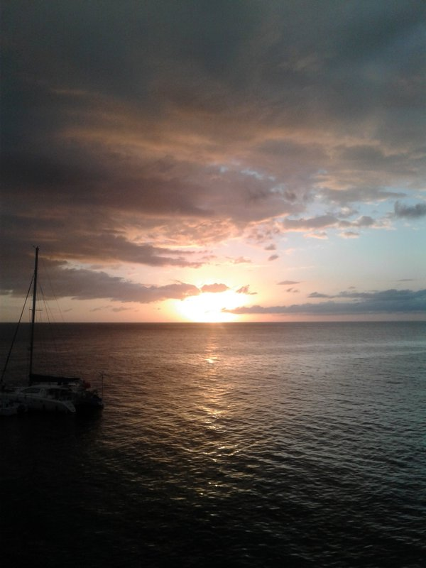Sunset in the Clouds at Negril thumbnail