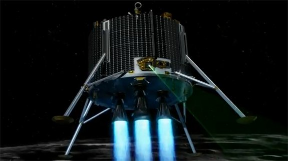 The European Space Agency wants to put an unmanned lander on the Moon in 2018.