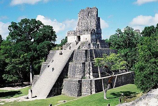 Mayan Pyramids of Tikal