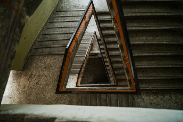 Down the stairs of Si Chuan Fine Arts Institue  thumbnail