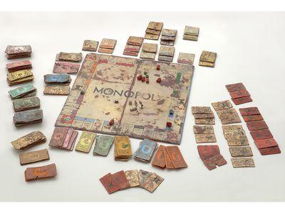 Monopoly, 2007 by Kristen Morgin