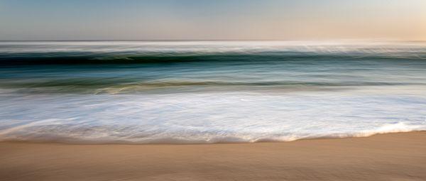 Atlantic ocean at sunset thumbnail