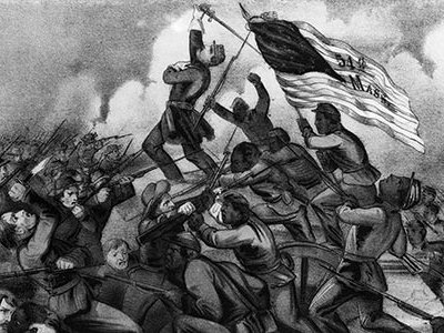 The fate of the Civil War hinged on the battle at South Carolina's Morris Island. If Union forces captured Fort Wagner they could control access to the harbor.