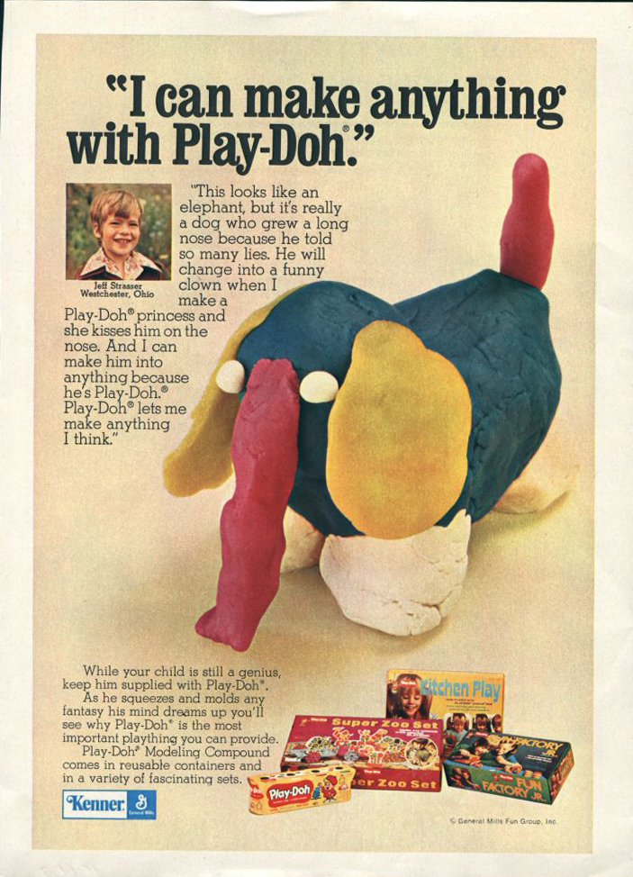The Accidental Invention of Play-Doh
