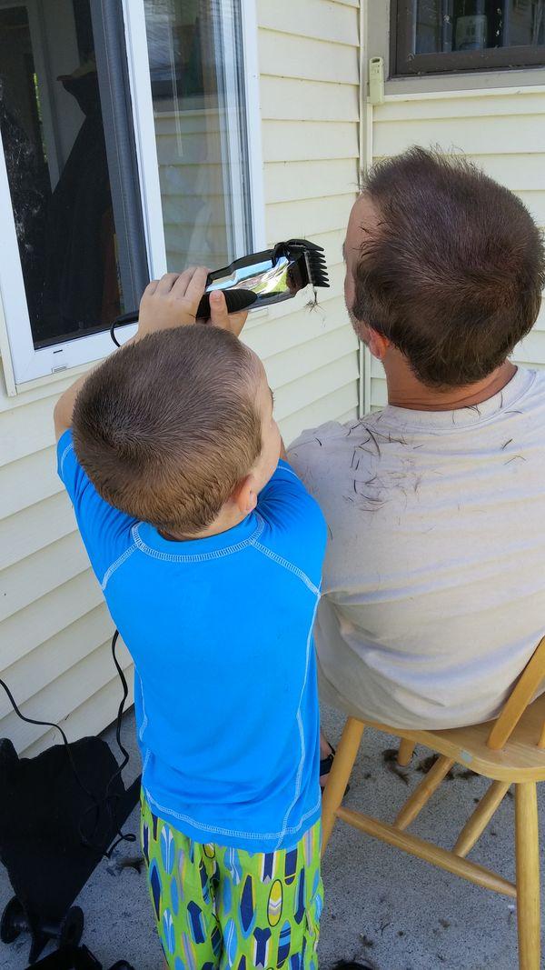 Dad's Haircut thumbnail