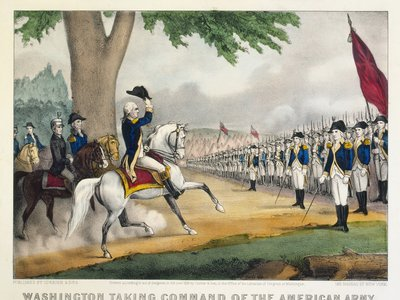 George Washington takes command of the Continental army.