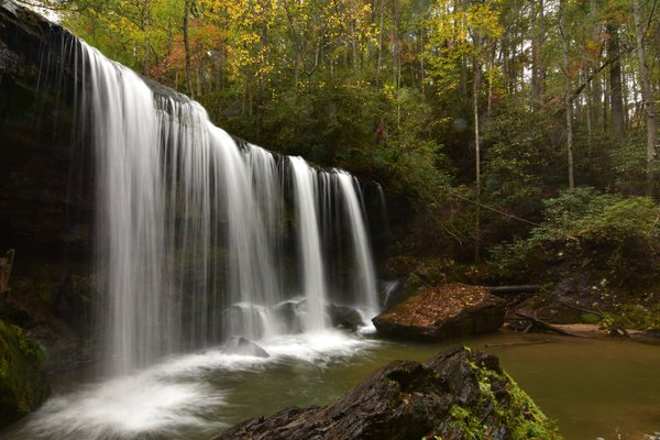 Middle Falls at Brasstown Creek Falls thumbnail