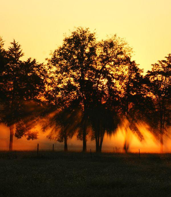 Sunrise on my way to work thumbnail