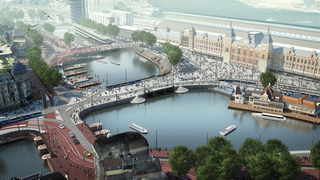 Amsterdam Is Widening Some of Its Canals