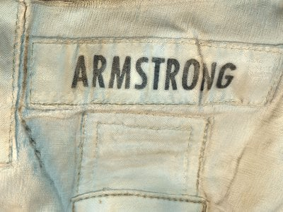 """""""This is Neil Armstrong's spacesuit. We could not take it apart,"""" says the museum's curator and spacesuit historian Cathleen Lewis of the meticulous care that went into conserving the historic artifact."""
