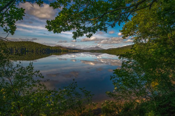 Loch Garry in the Scottish Highlands thumbnail