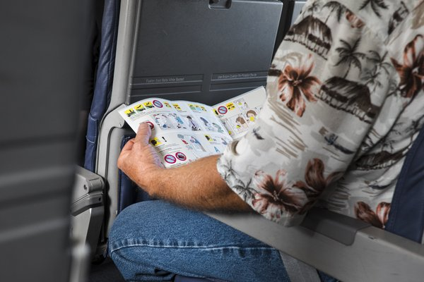 A man reads safety literature thumbnail