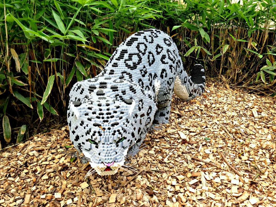 This Artist Uses Thousands of Lego Bricks to Make Lifelike Sculptures of Animals