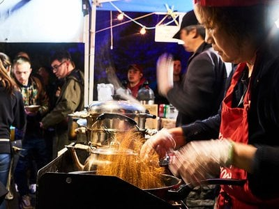 Vendors at the Queens Night Market represent more than 90 countries.