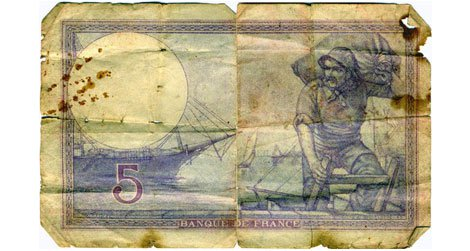 Gone but not forgotten, the French franc