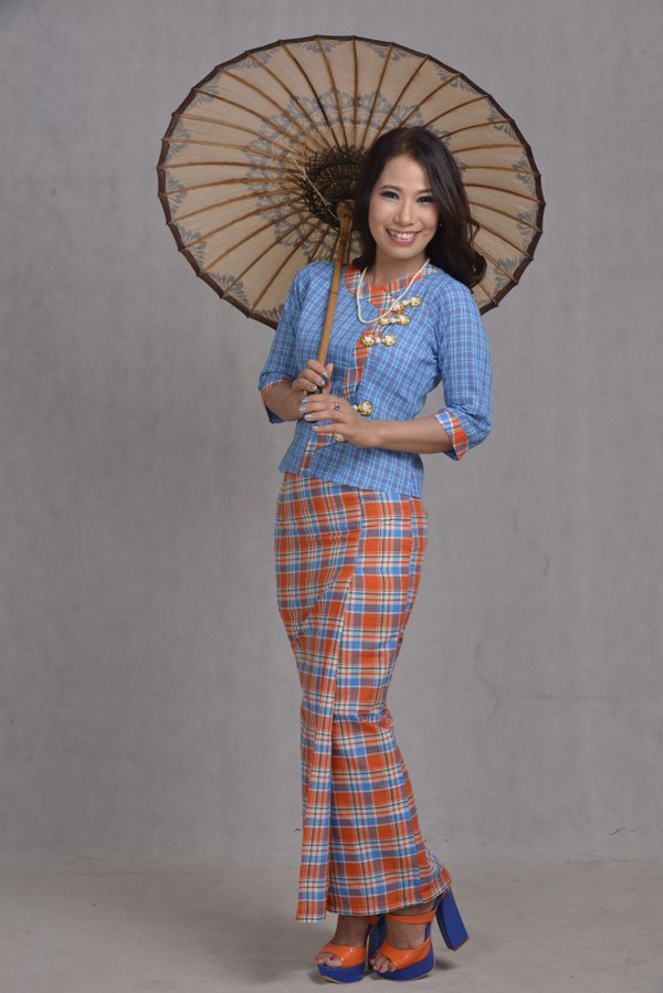 Umbrella with Traditional dress thumbnail