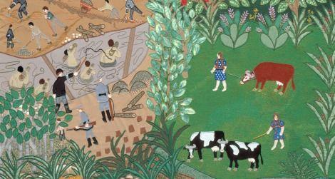 Esther Nisenthal Krinitz' fabric