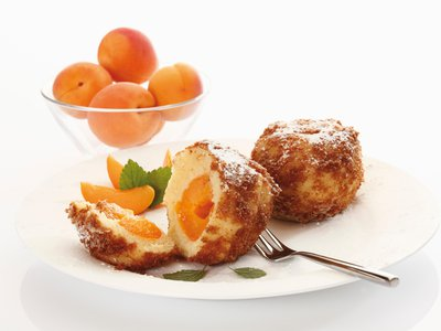 Marillenknoedel, or apricot dumplings, are a Wachau Valley specialty.