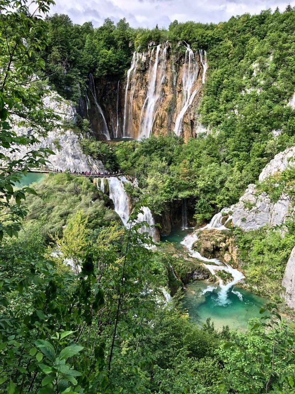 Falls in Plitvice Lakes, Croatia thumbnail