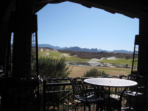 Laughlin Ranch Golf Course overlooking Arizona mountains thumbnail