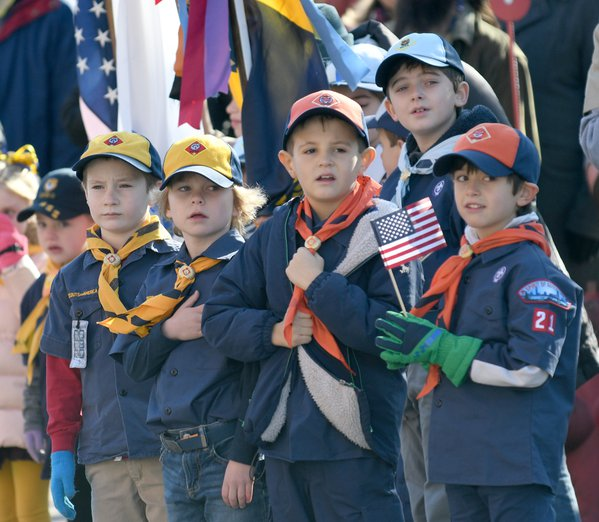 Scouts and flags thumbnail