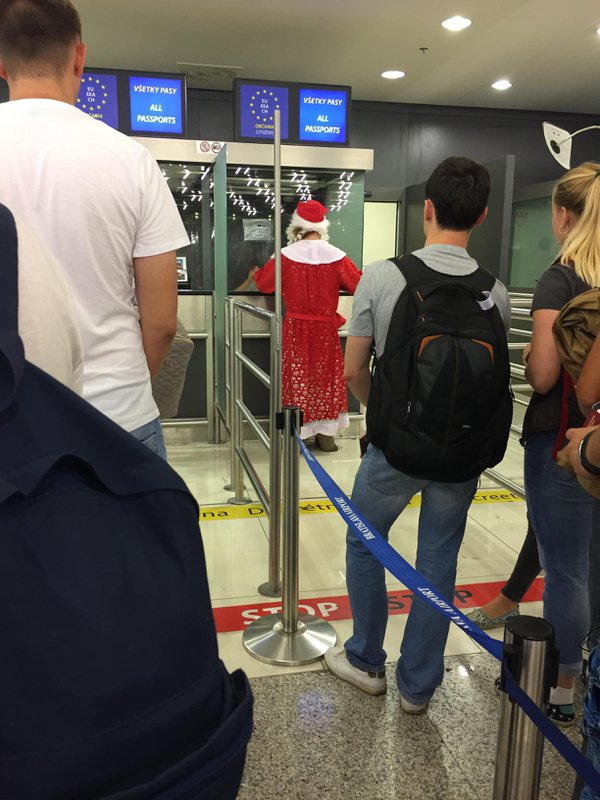 Santa passing the customs thumbnail