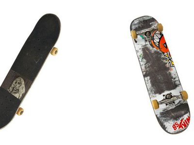 Lacey Baker's personalized skateboards