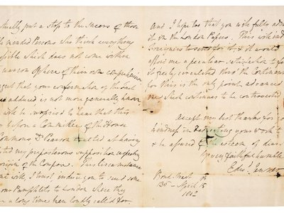 The letter sheds light on Jenner's beliefs about the use of cowpox and horsepox in vaccination.