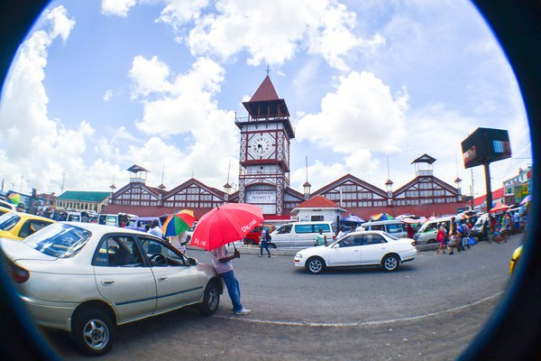 Fisheye on Stabroek Market thumbnail