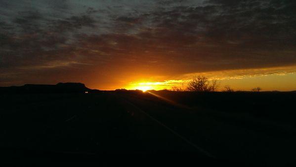 Sunrise leaving El Paso thumbnail