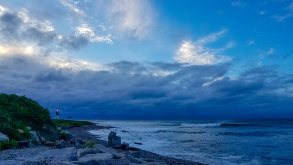 Point Judith Lighthouse, Hurrican Dorian thumbnail