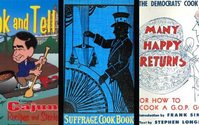 Political cookbooks come from all sides of the spectrum.
