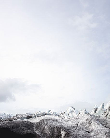 Caleb Cain Marcus' Photos of Glaciers on a Disappearing Horizon