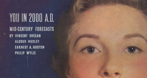 Cover of the Jan 1950 issue of Redbook