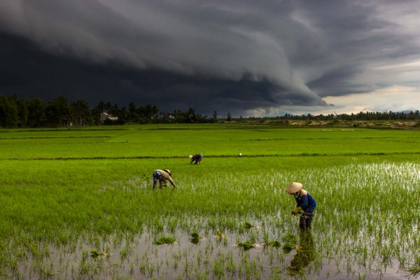 Storm coming over Hoi An thumbnail
