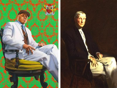 """In the recent """"Portraits"""" podcast, LL recounts why he turned to a 100-year-old masterpiece of the richest person in modern history—John D. Rockefeller Sr.—for his power pose."""