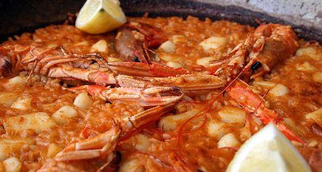 Paella from Valencia