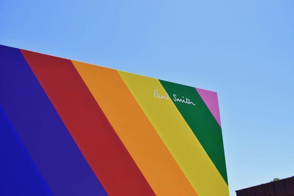 Paul Smith's Rainbow Wall thumbnail