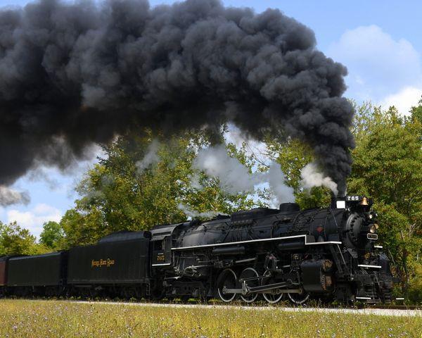 Steam Engine at full throttle thumbnail