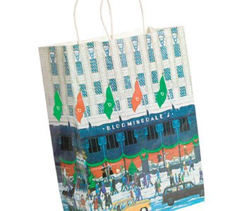 For some Manhattan sybarites, the department store's 1982 bag spelled Christmas.