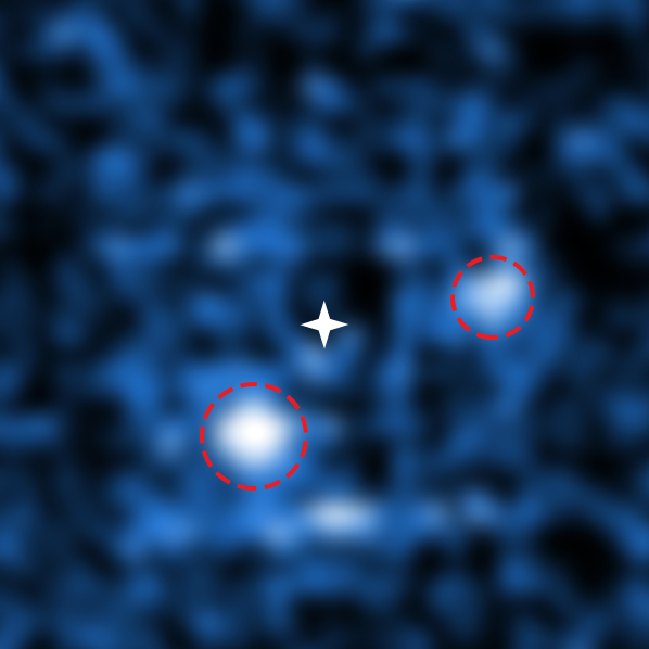Astronomers Snap a Rare Picture of Two Baby Planets