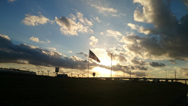 Old Glory at Sunset thumbnail