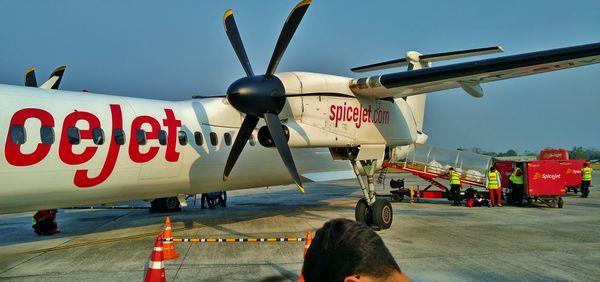 Giant Propeller on a Tiny Plane thumbnail