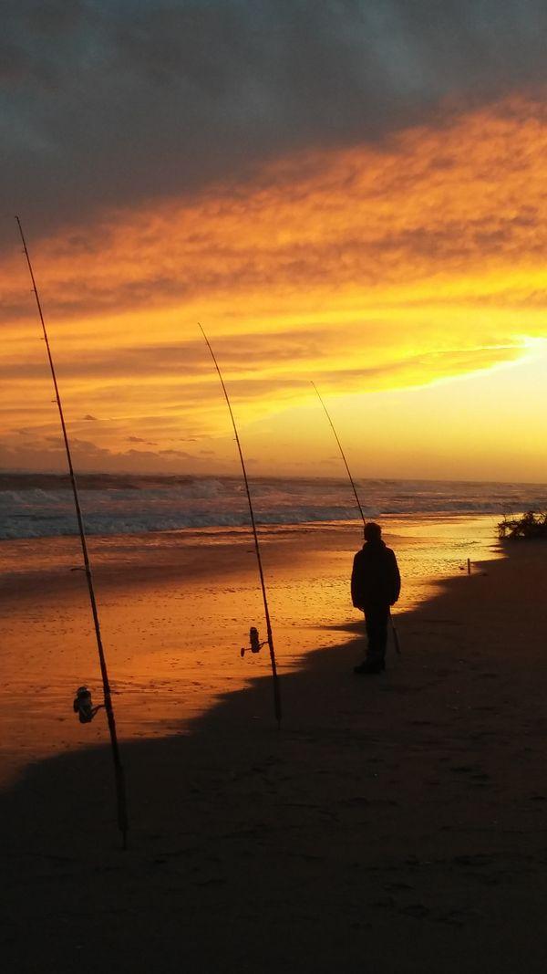 Fishing Outer Banks Sunset thumbnail
